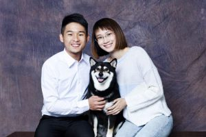 Founders of Pet Sitting Diary (Sam & Angela)