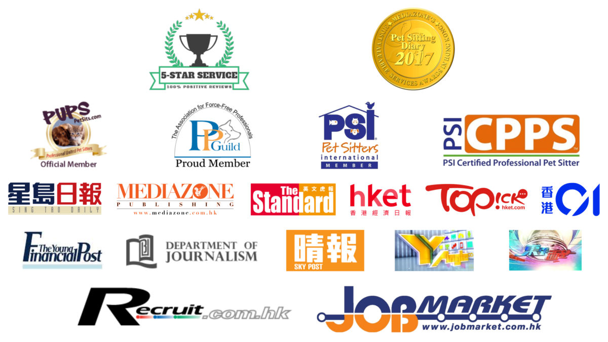 Pet Sitting Diary has been featured in 13 media, award winning and recognized by multiple international Pet organizations.